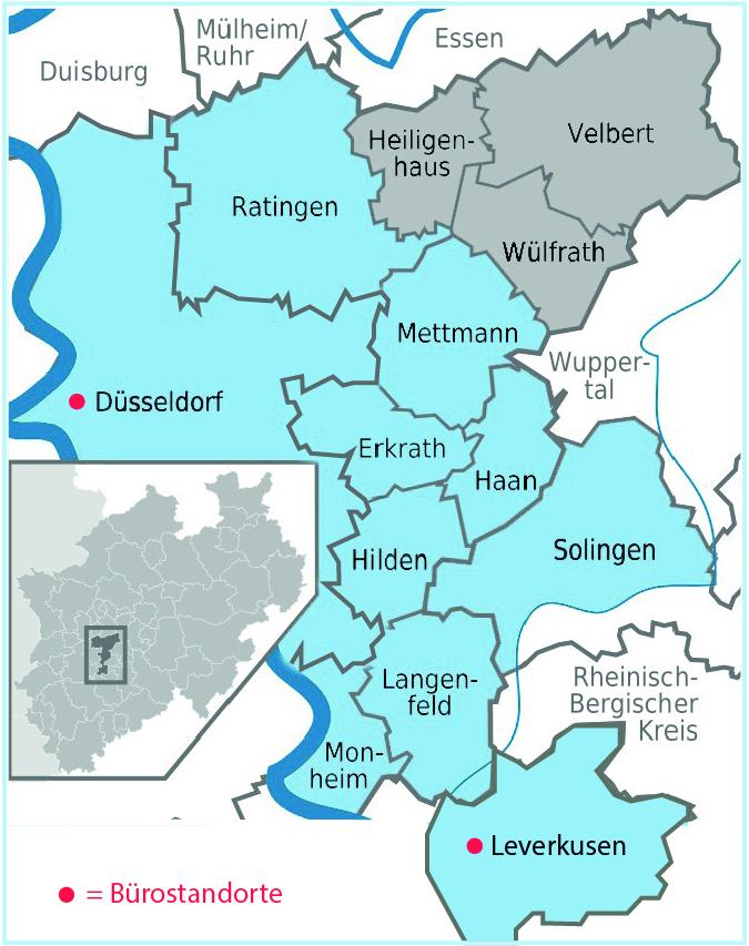 Karte Einsatzgebiet